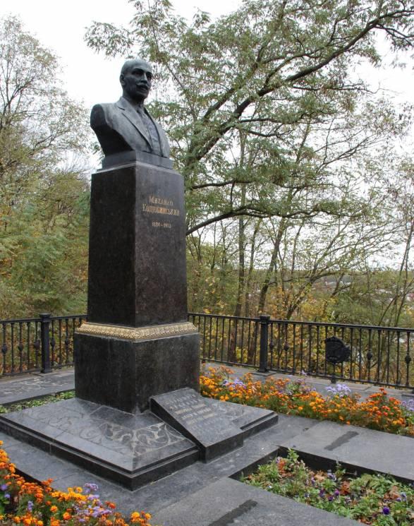 УЧернігові змогили Коцюбинського вкрали бронзовий бюст