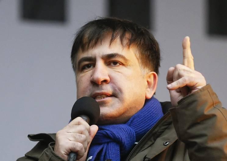 Саакашвили объявил опрекращении собственных акций нановогодние праздники