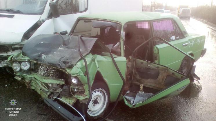 В Одесской области произошло серьезное ДТП, есть пострадавшие (фото)