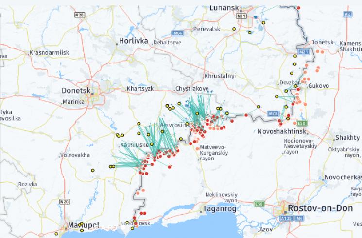 Bellingcat продемонстрировал, как РФ начала войну наДонбассе (КАРТА)