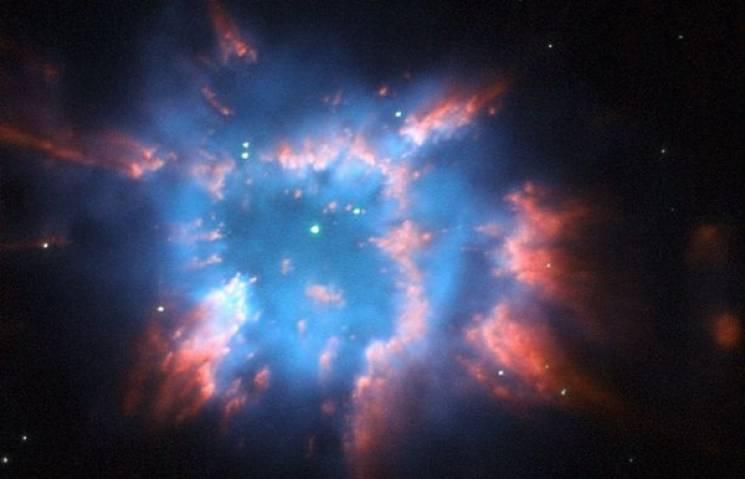 Американские астрономы обнаружили туманность, подобную нарождественскую звезду