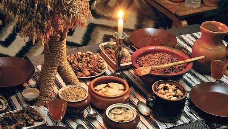 История на тарелке: 12 блюд – по числу а…