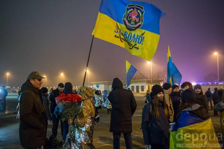 """Як у """"Борисполі"""" чекають на звільнених у…"""