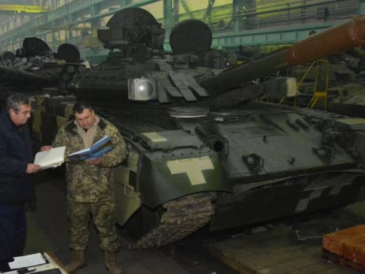 На харьковском заводе восстановили танки…