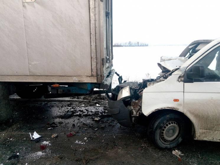 На Полтавщині не розминулись вантажівка…