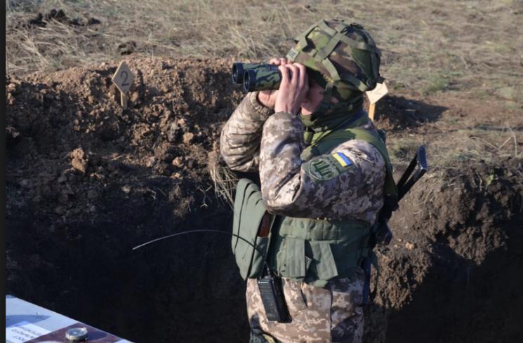 На Луганщині вночі бойовики один раз обстріляли позиції ЗСУ