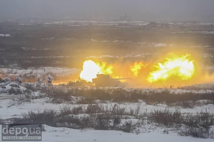 Як на Чернігівщині з танками і гарматами відпрацьовували можливу війну з Росією
