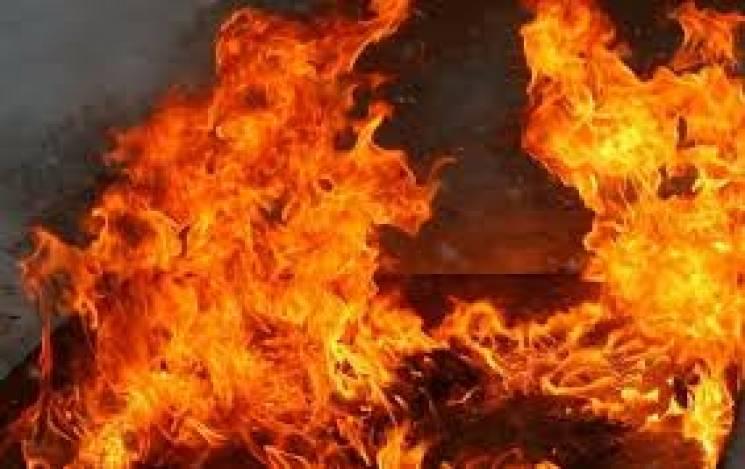 На Тернопільщині мало не згорів цех з виготовлення матраців
