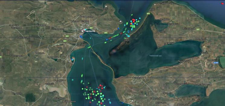 Росія спричинила низку аварій суден в Азові та Чорному морі (ФОТО)