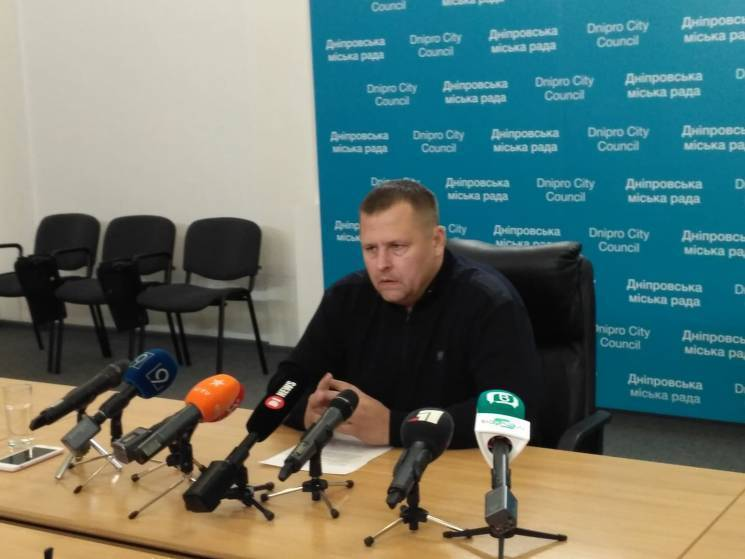 """Мер Дніпра Філатов заявив про вихід з """"УКРОПу"""""""