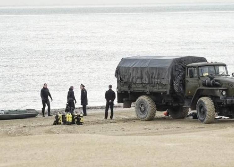 Анапські драйвери виловили міну в районі дитячого санаторію