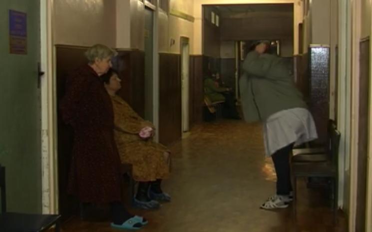 У Кропивницькому на слизьких тротуарах покалічились десятки людей