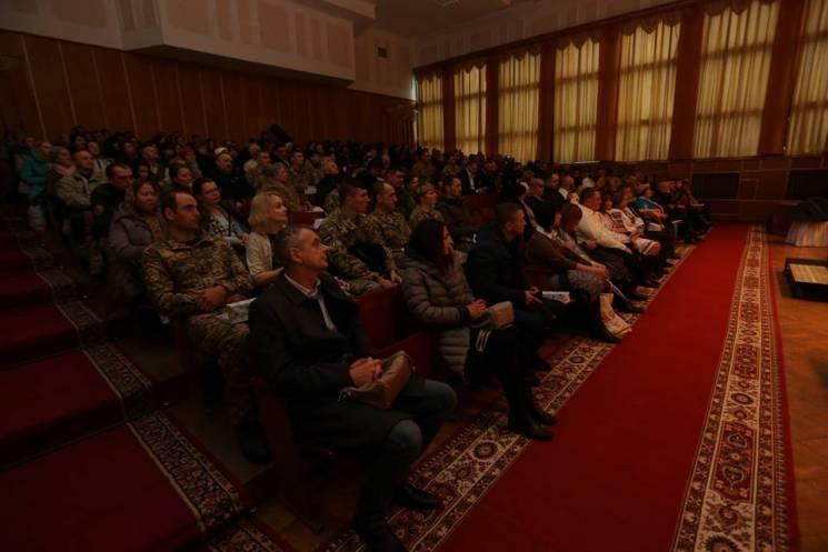 У Хмельницькому привітали військових та їхніх помічників - волонтерів (ФОТО)