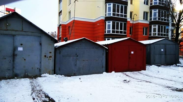"""По Хмельницькому """"розкидані"""" нелегальні гаражі"""
