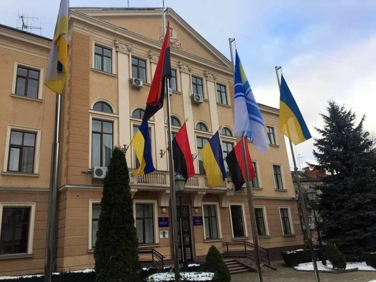 У Тернополі замайорів прапор ВМС Збройних Сил України