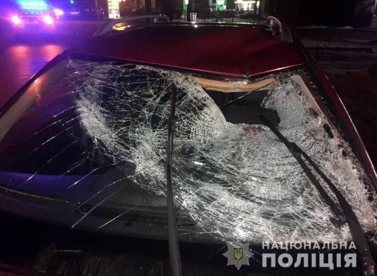 На Київській машина збила пішохода (ФОТО)