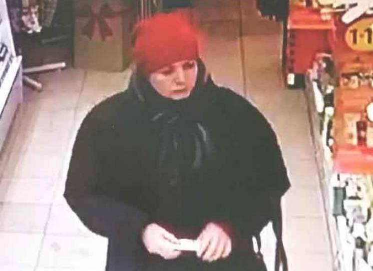 Вінницька поліція просить допомоги в розшуку злодійки