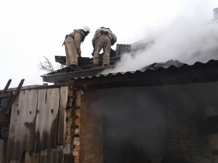 На Полтавщині бійці ДСНС загасили пожежу в житловому будинку (ФОТО)