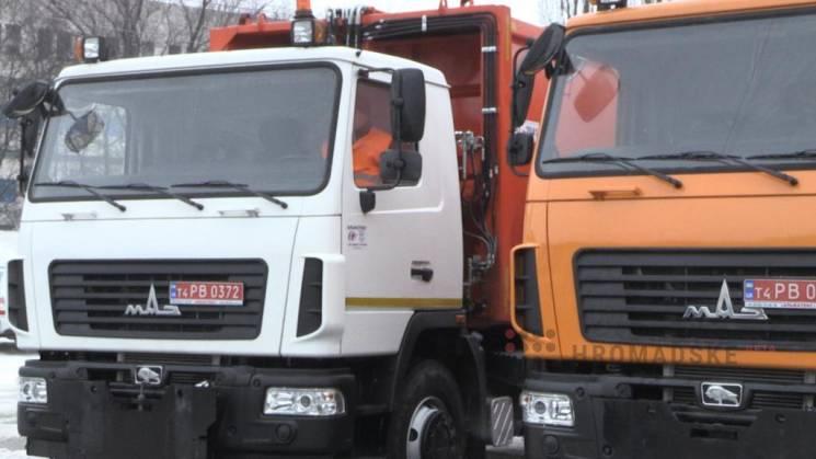 Для Полтави придбали нові сміттєвози та асенізаційні машини за 12 млн грн (ВІДЕО)