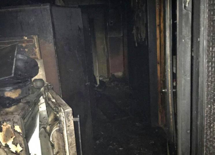 У будинку під Одесою через спалах газоповітряної суміші сталася пожежа (ФОТО)
