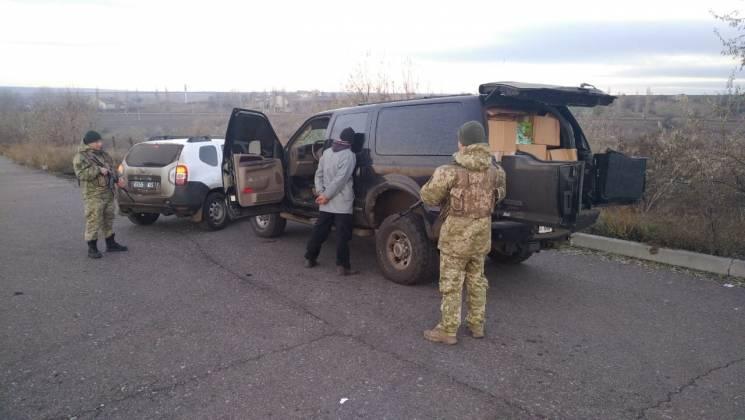 На Одещині прикордонники затримали цигаркову контрабанду на 2,5 млн (ВІДЕО)