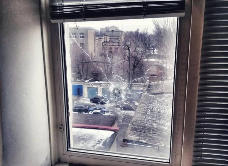 Запоріжець випадково смальнув на вулицю з рушниці (ФОТО)