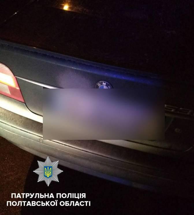 У Полтаві копи зупинили водія-наркомана