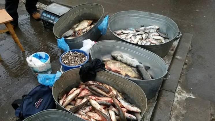 За тиждень рибоохоронний патруль Хмельниччини вилучив майже 100 кг риби (ФОТО)