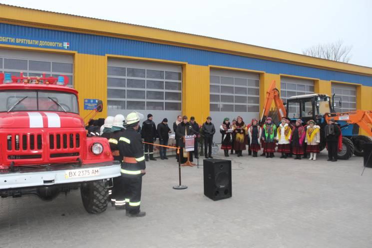 На Хмельниччині відкрили 91 місцеву пожежну команду (ФОТО)