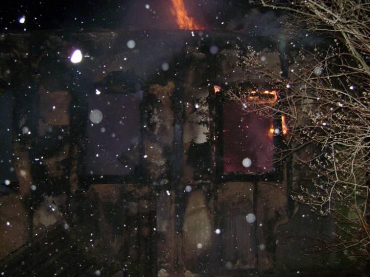 На Полтавщині під час пожежі у житловому…