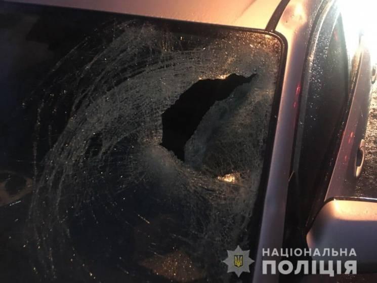 На Салтовке иномарка задавила насмерть пешехода: Личность погибшего устанавливается (ФОТО)