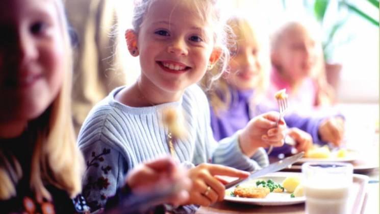 На безкоштовне харчування дітей у школах…