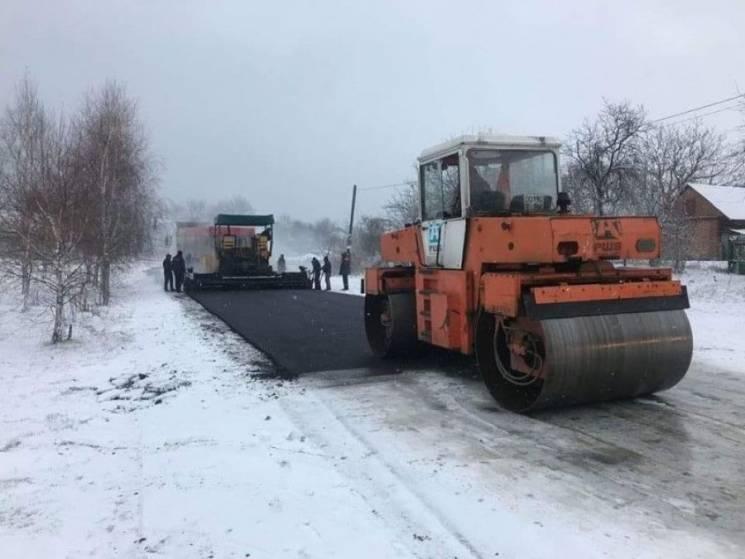 """В """"Укравтодорі"""" не платитимуть за асфальт, укладений в сніг"""