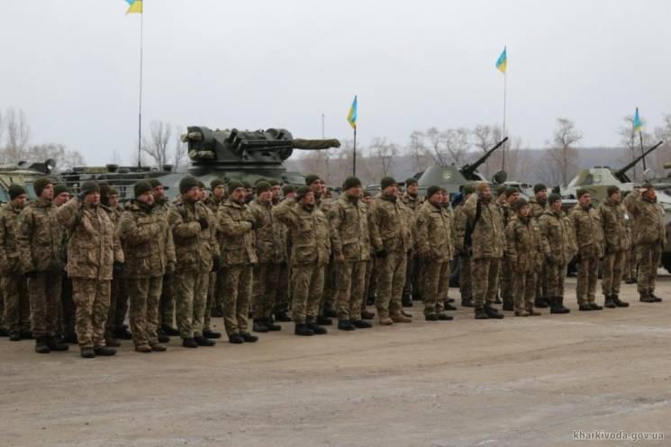 На Харьковщине бригада ТРО провела тактические учения с усиленным танковым взводом (ФОТО)