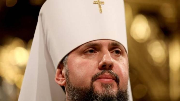 В Михайловском соборе в Киеве Епифаний проводит первую литургию (ВИДЕО)
