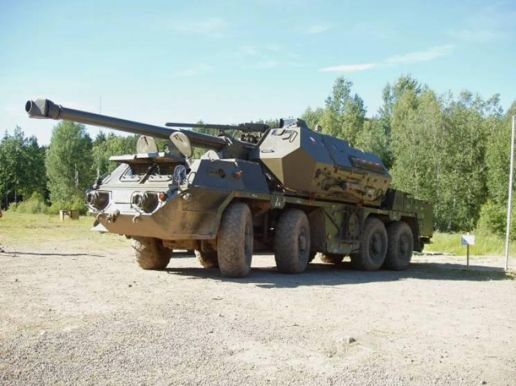 """САУ """"Дана"""": Що за унікальну зброю планує купувати Україна в Чехії"""