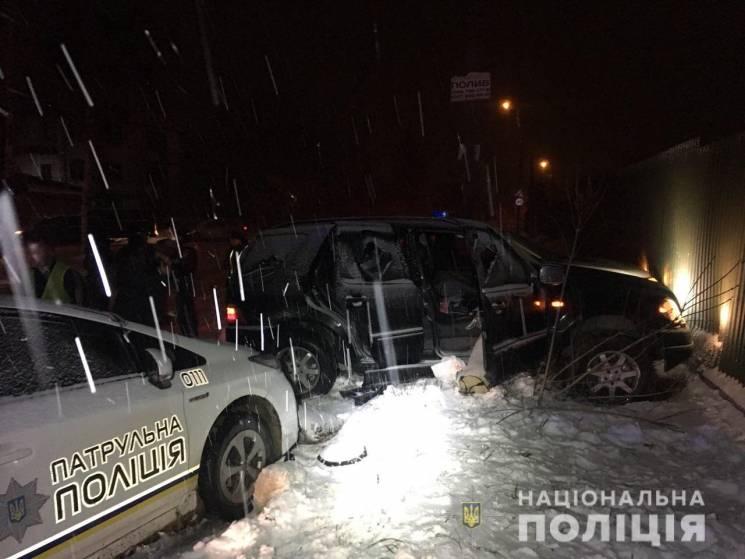 Втеча, автотроща, стрілянина, потерпілі: У Рівному затримали жителя Хмельниччини (ФОТО, ВІДЕО)