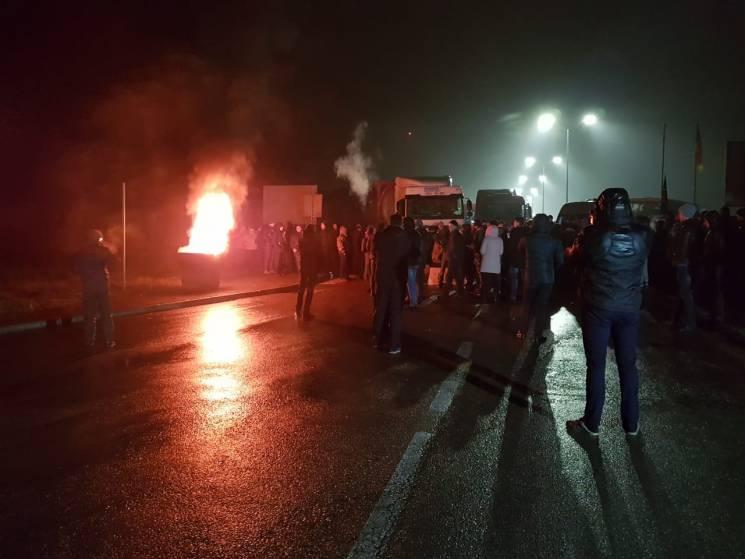 """Вбивство підлітка, гальмо для децентралізації та """"євробляхи: ТОП-5 протестів закарпатців у 2018-му"""