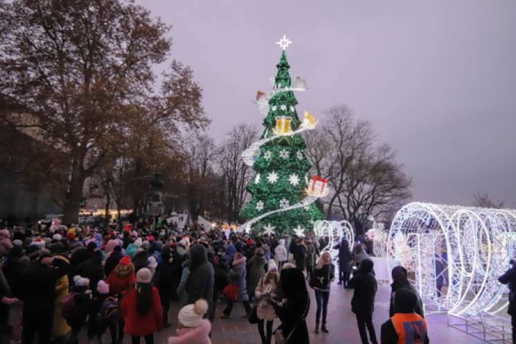 Як виглядають новорічні ялинки Одещини (ФОТО)