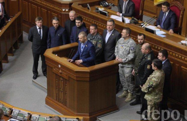 Комбаты Рады открестились от «батальонного братства», пикетировавшего АП