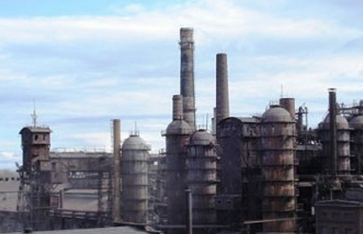 Ахметовской завод-гигант в Енакиево прекратил работу