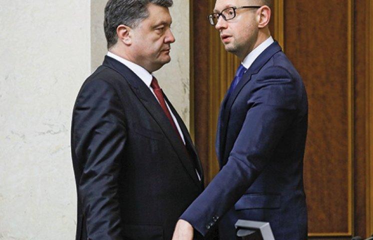Как остановить взаимное поедание Порошенко и Яценюка