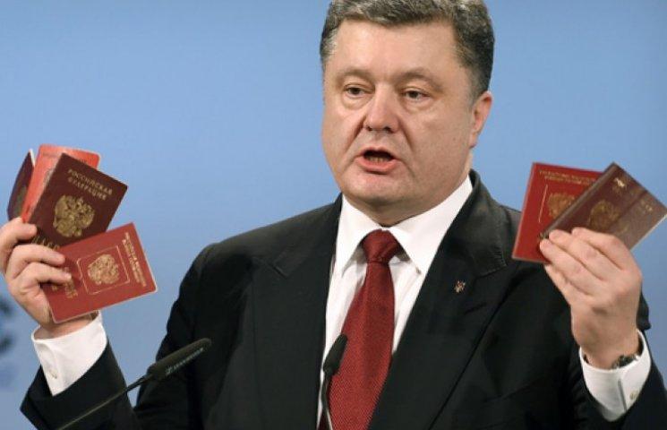 Тайные знаки: паспорта Порошенко, ранения Семенченко и язык Меркель