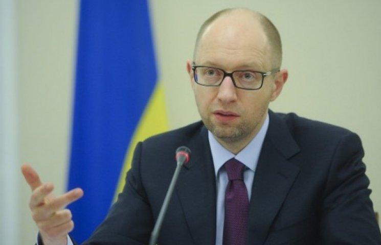 Яценюк закликав підприємців «гнати в шию» перевіряльників
