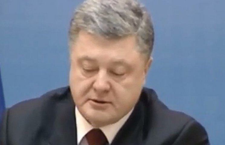 Порошенко не стримав сліз, розповідаючи про трагедію в Краматорську