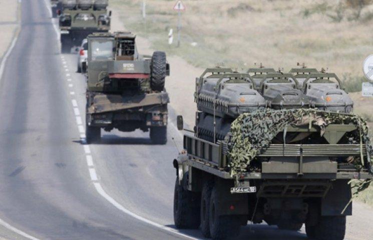 Карта АТО за 12 лютого: з РФ прибули сотні одиниць бронетехніки