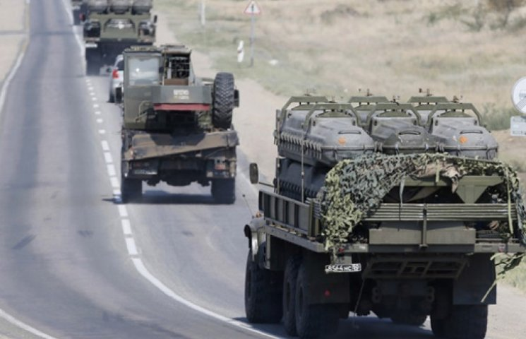 Карта АТО за 12 февраля: из РФ прибыли сотни единиц бронетехники