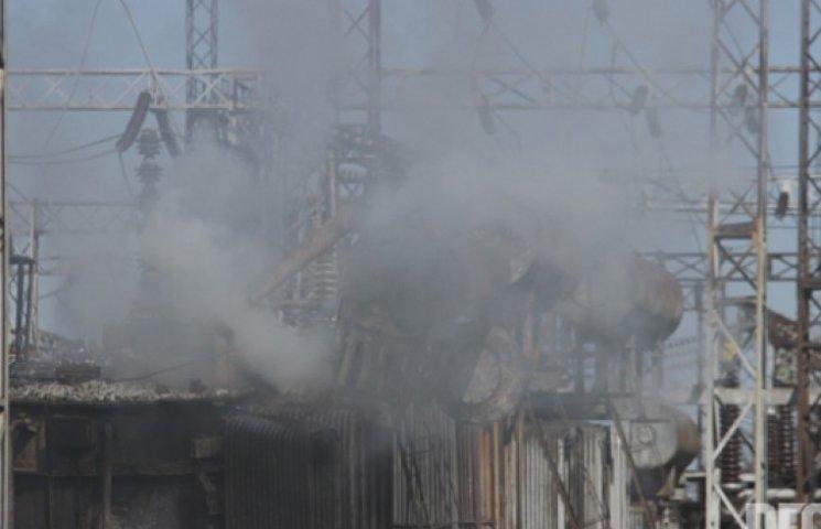 Бойовики обстріляли ТЕС у Щасті: кілька районів залишилися без тепла і світла