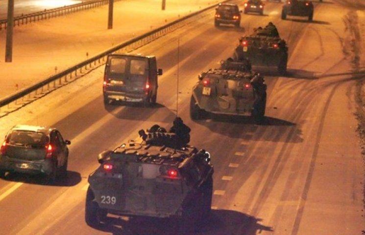 Росія перекинула в Україну ще 66 одиниць бронетехніки - штаб АТО