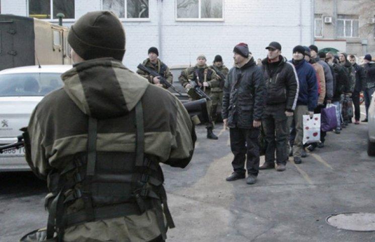 Під Дебальцевим бійці потрапили у засідку та опинилися в полоні бойовиків
